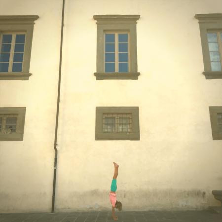 handstand door kinderen
